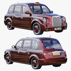 London taxi hackney carriage TX4 model