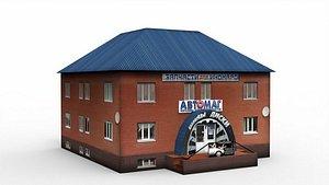 3D Auto shop model