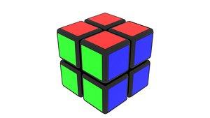 Rubiks Cube 2x2x2 3D