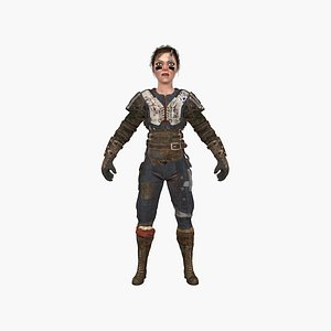 3D Female Gladiator