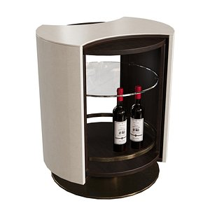 3D lehome d083 wine stand