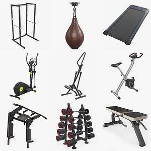 3D Sports equipment vol. 4 model