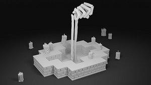 3D enter gungeon lich