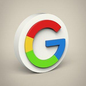3D Google logo