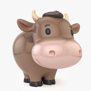 3D bank bull