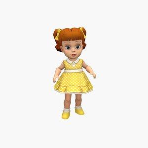 Gabby Gabby 3D model