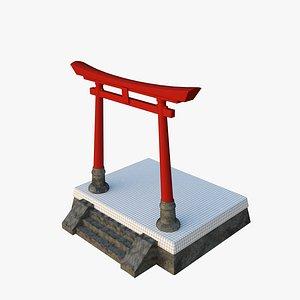 japan torii model