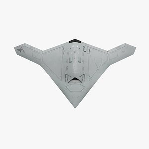 X47-B 3D model