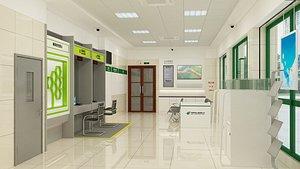 Bank 3D model