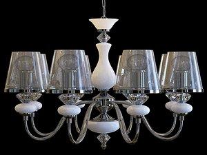 chandelier lights lamp 3D