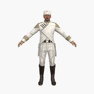 tennyson captain 3D