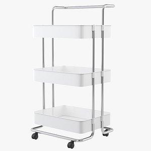 storage cart 3D
