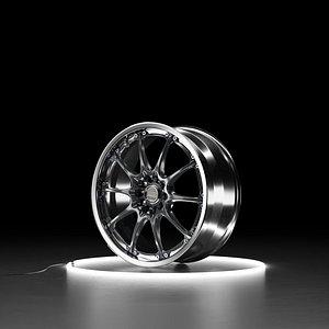 RAYS VOLK RACING GT-N Car wheel model