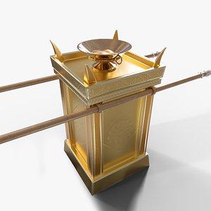 incense model