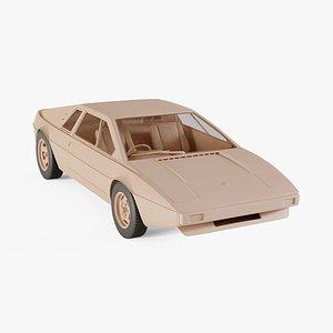 3D model 1975 Lotus Esprit