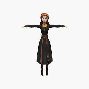 3D Anna