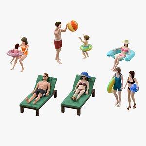 man pool 3D