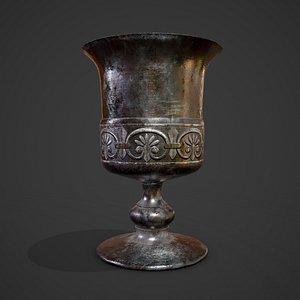 goblet medieval 3D