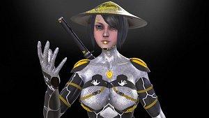 Cyber Girl 3D