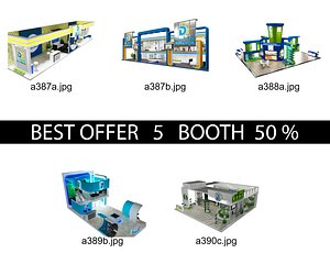3D Booth Exhibition Stand c14