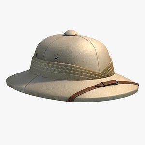 retro pith helmet 3ds
