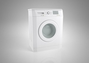 Washing machine Automatic drum Washing machine Electrical appliances Household appliances Household 3D model