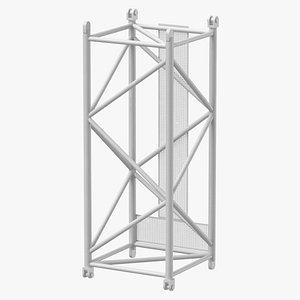 3D crane l intermediate section