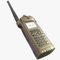 SRX 2200 Portable Radio LowPoly