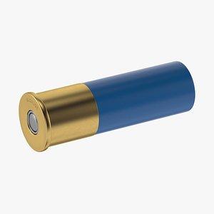 3D model bullet ammo