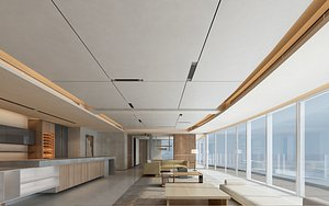 hall reception 3D