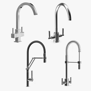 3D Kitchen Taps Collection 2