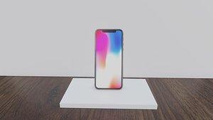 3D Apple iPhone SE X Concept