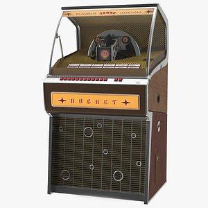 Sound Leisure Vinyl Rocket Jukebox 3D model