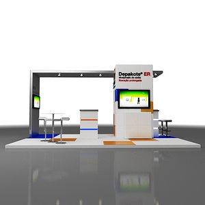 Modern Stand Exhibition 6x4m