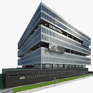 3D Samsung Campus model