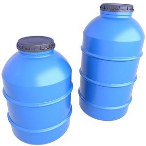 Water Storage Tank 3 3D model