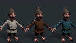 3D model - gnome ar