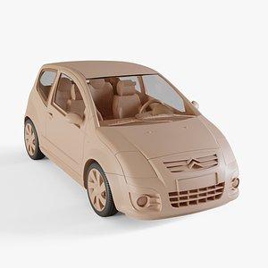 3D Citroen C2 2009