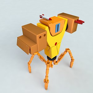 3D Robospider model