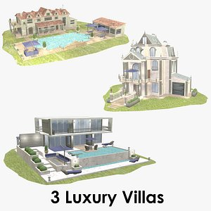 luxury villas - model