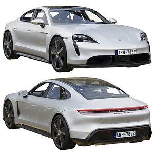 Porsche Taycan Turbo S 2020 3D