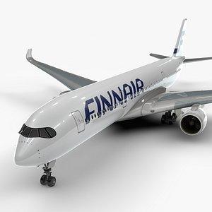 3D a350-900 finnair l1116