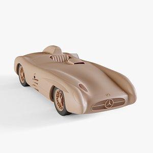 3D 1955 Mercedes-Benz 300 SLR