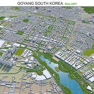 Goyang South Korea 3D