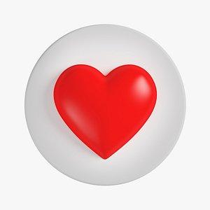 Like Heart 02 3D model