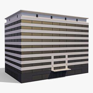 3D Commercial Building 014 model