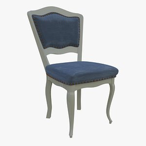 Classic Dining Chair 3D