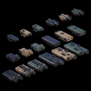 3D PEQ Units 01 PACK model