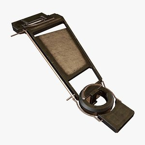 Wing Frame H 3D model