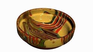 rustic bowl 3D model